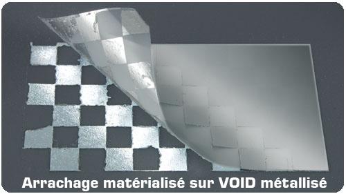 etiquette-anti-fraude-code-barre-polyester-void-personnalisée
