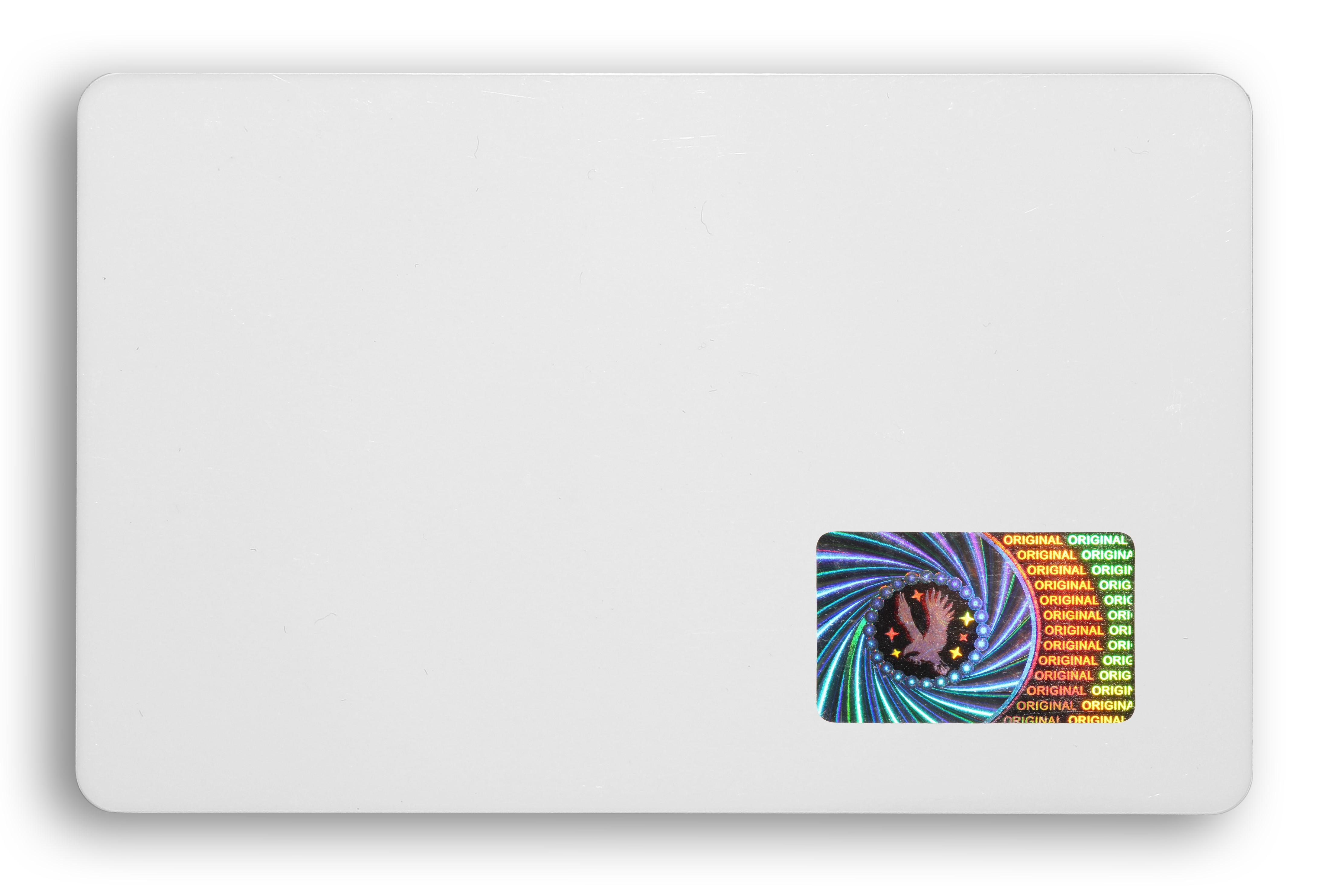 carte-timbre-holographique-sécurité-etui-protection