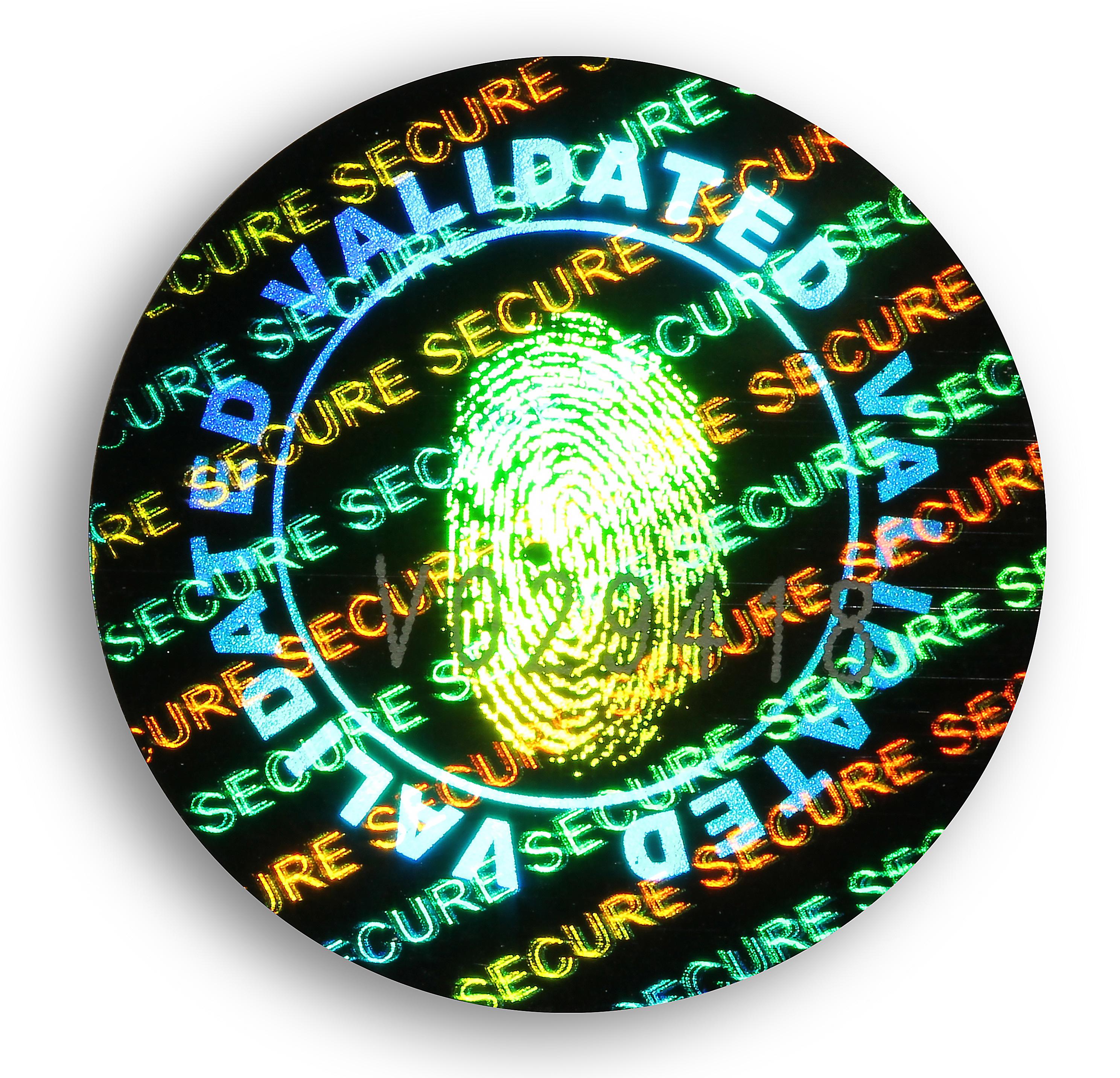 validated-hologramme