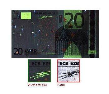 décteur-faux-billet-20-euros-sous-lumière-uv