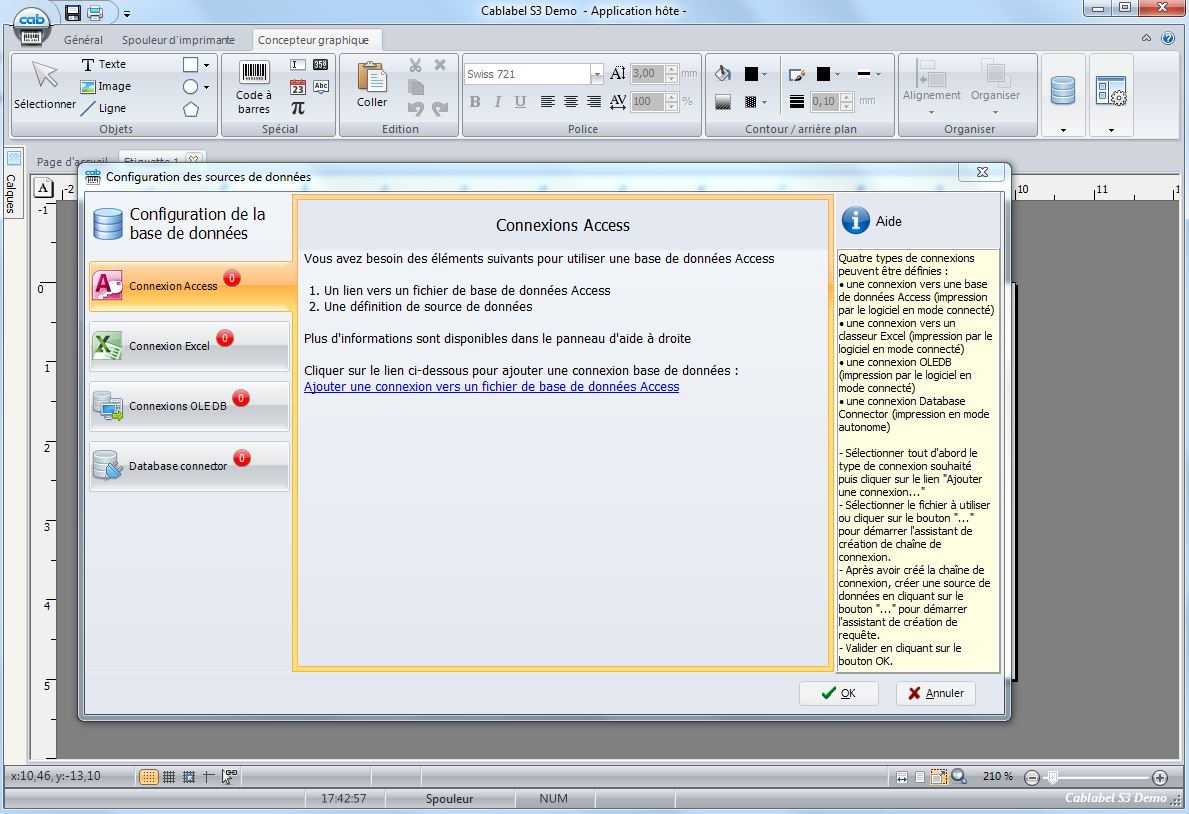 Export-of-Cablabel-S3- software-data