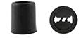 fermeture plastique cylindrique bracelet tissu événementiel
