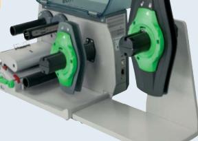 External-unwinder-CAB- EOS4-thermal-transfer-printer