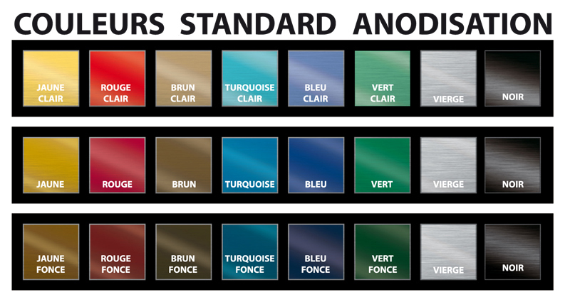 couleurs-standard-anodisation-etiquette aluminium-3M-rigide