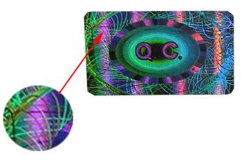 hologramme-effet-guilloche-holographique-etiquette-étiquette