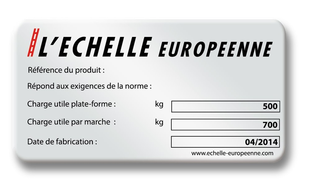example french manufacturer plate