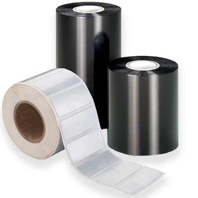 ink ribbons labels rolls