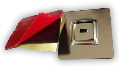 plaque ancrage avec son adhesif