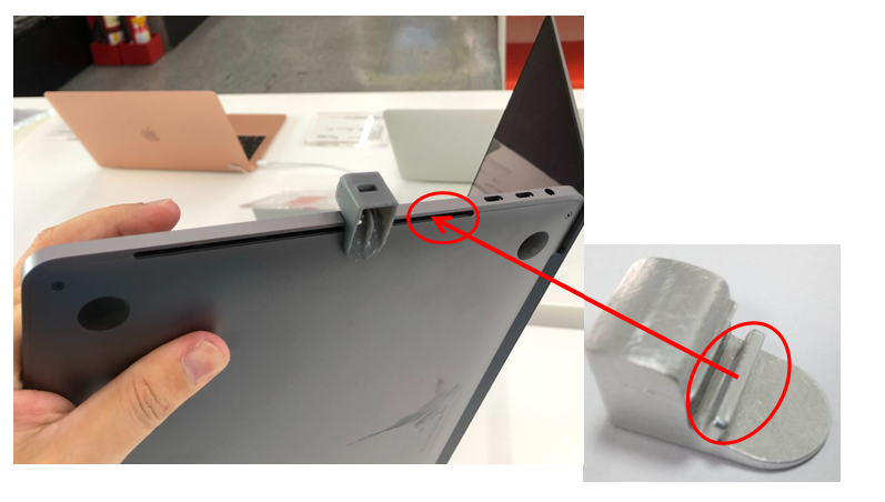 anti-theft device for Macbook Pro 13 and 16