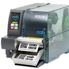 imprimante transfert thermique cab squix 4 sbe direct. Black Bedroom Furniture Sets. Home Design Ideas
