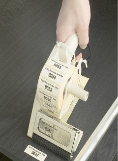 hand-held labeler
