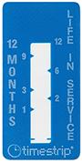Timestrip Time Indicator months