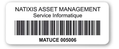 etiquette code barre alphanumerique