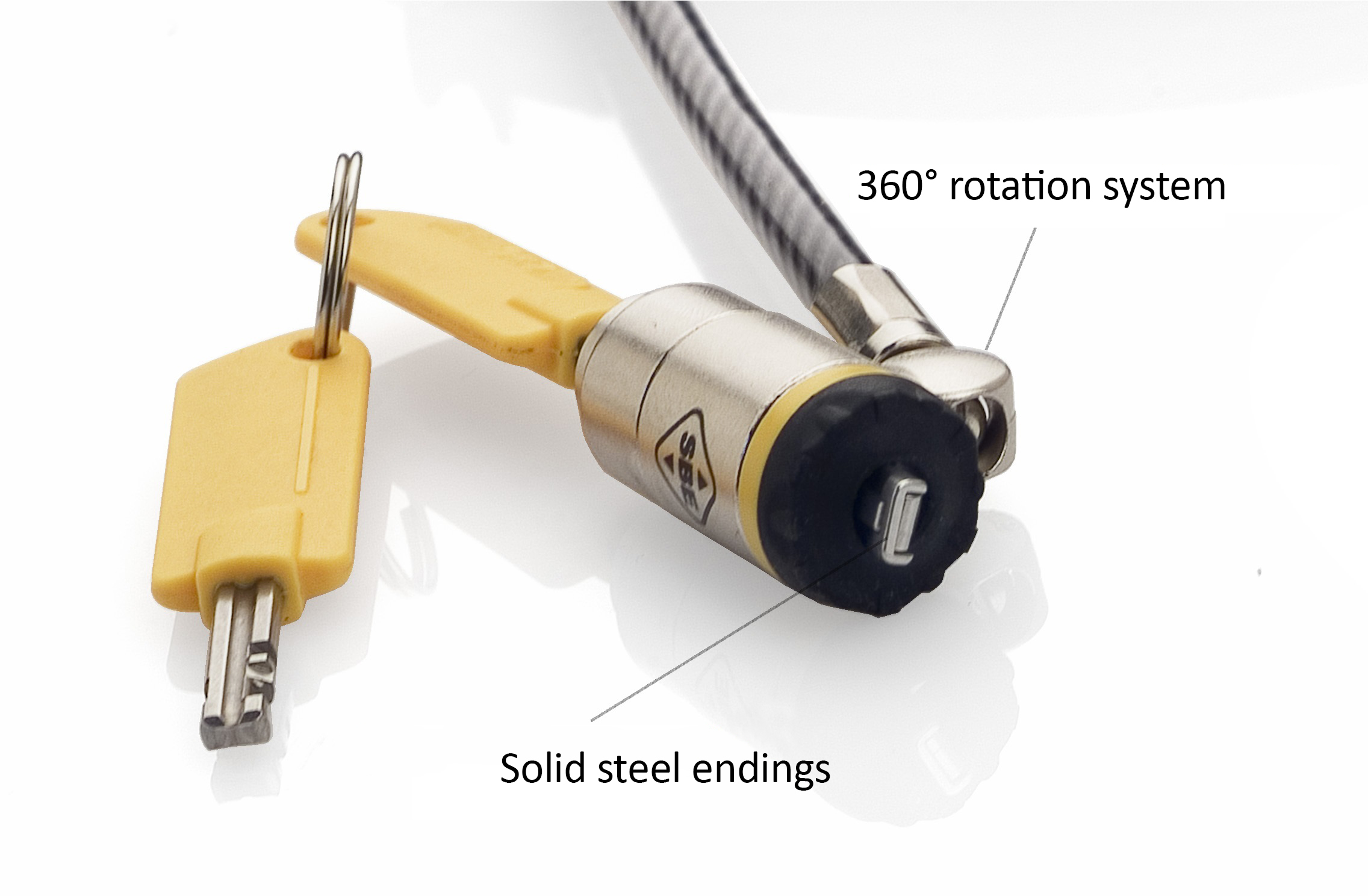 cable-antivol-portable-haute-securite-terminaison-acier photo légendée