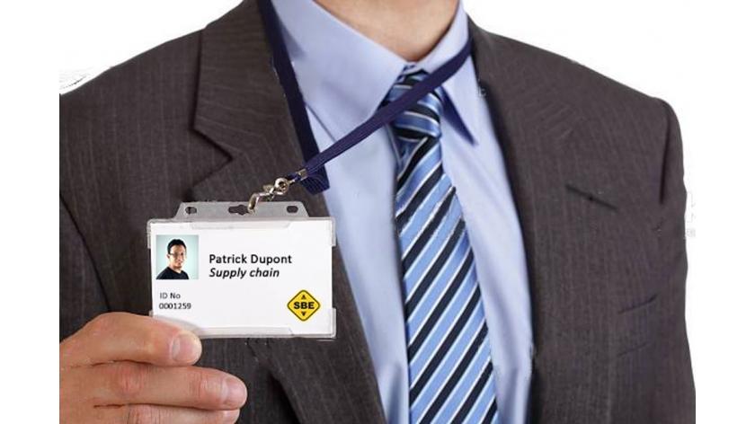 porte badge,badge