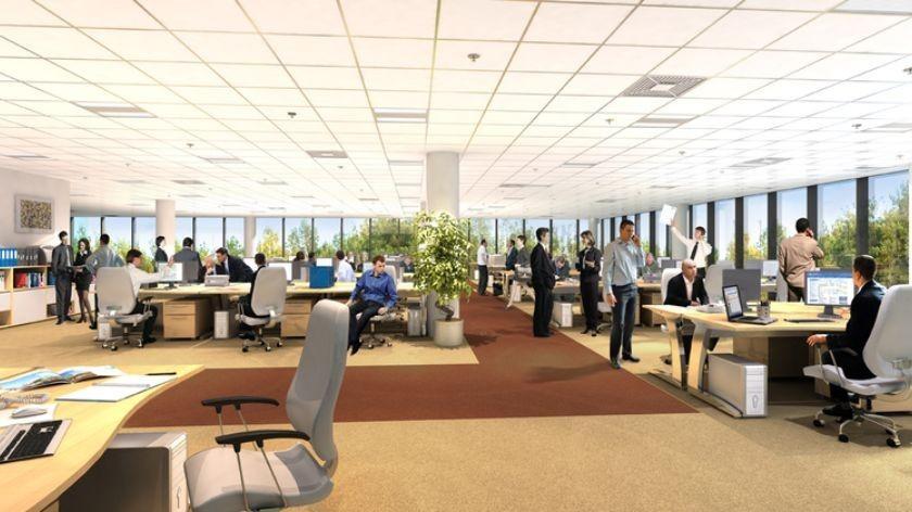 photo de bureau parlant de vol dans les entreprises