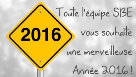 Tous nos voeux pour cette nouvelle année