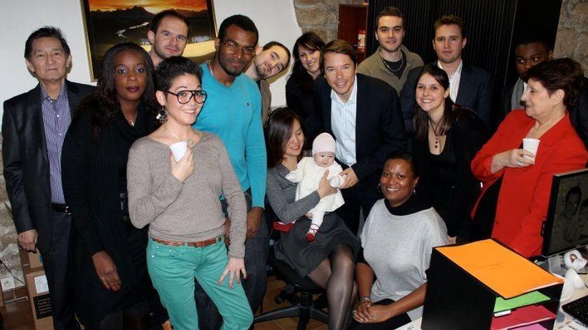 noel 2011 avec toute l equipe sbe