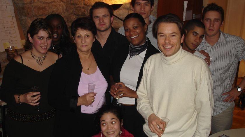 noel 2005 avec l equipe sbe